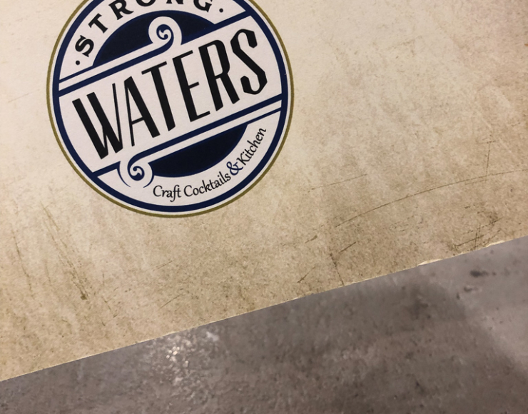 Strong Waters Craft Cocktails & Kitchen