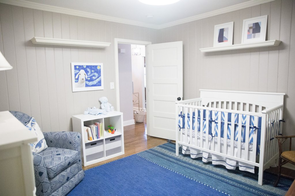 designer nursery on a budget