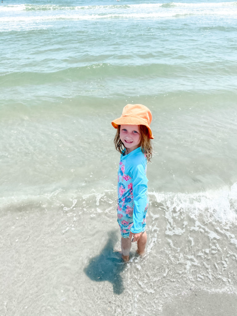 zip-up one-piece rash guards for girls