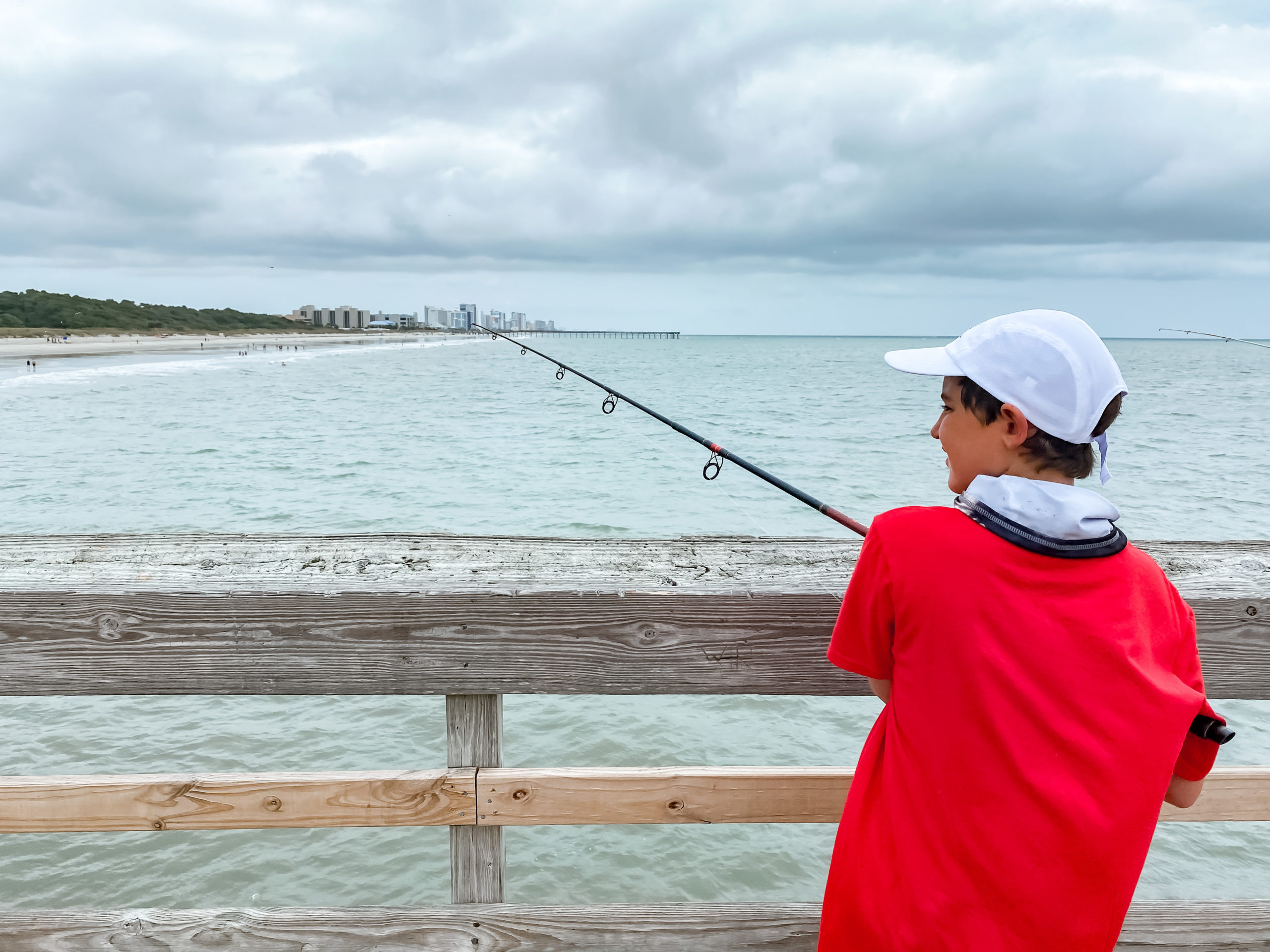 Fishing at Myrtle Beach State Park