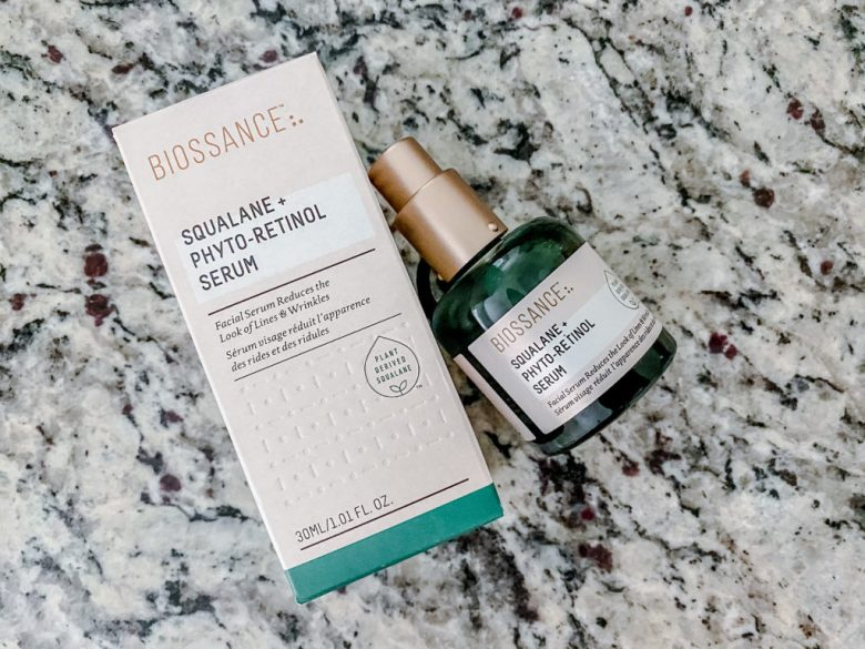 Clean Anti-aging skincare biossance review
