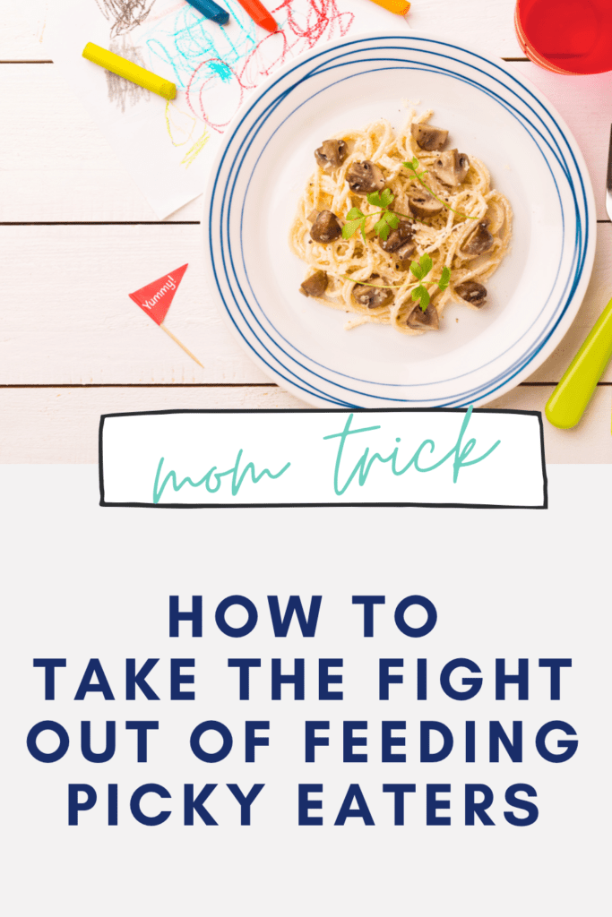 Struggling with kids meals for picky eaters? Here's a genius trick.