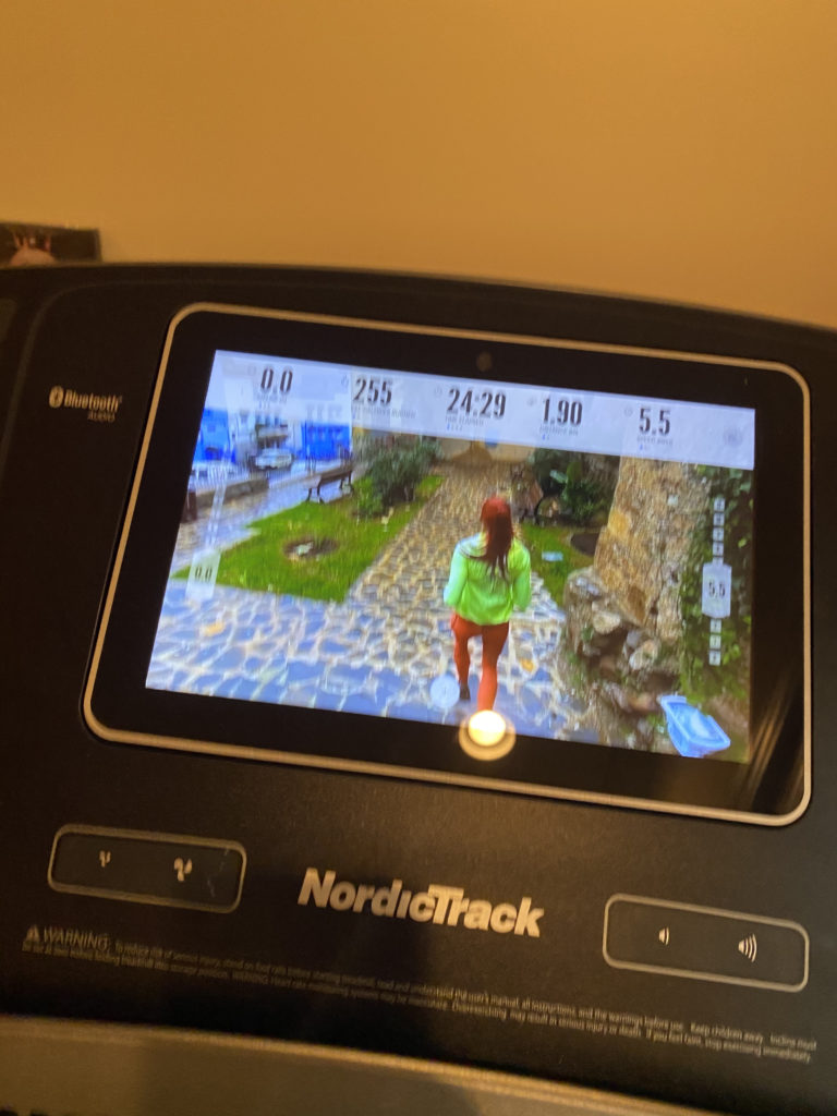 IFIT on the treadmill