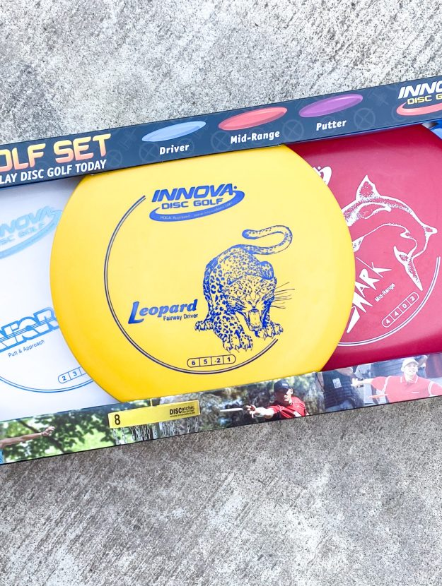 Disc golf course starter set