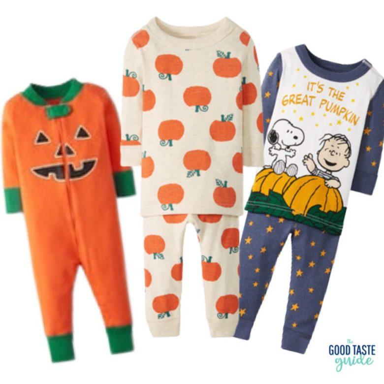 Pumpkin pajamas from Hanna Andersson