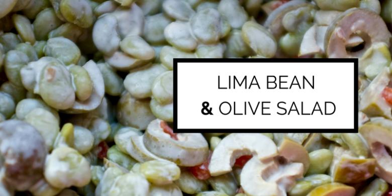 Lima Bean & Green Olive Salad