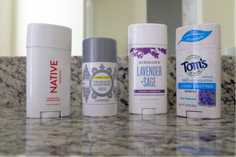 A Natural Deodorant is best when it passes the smell check.