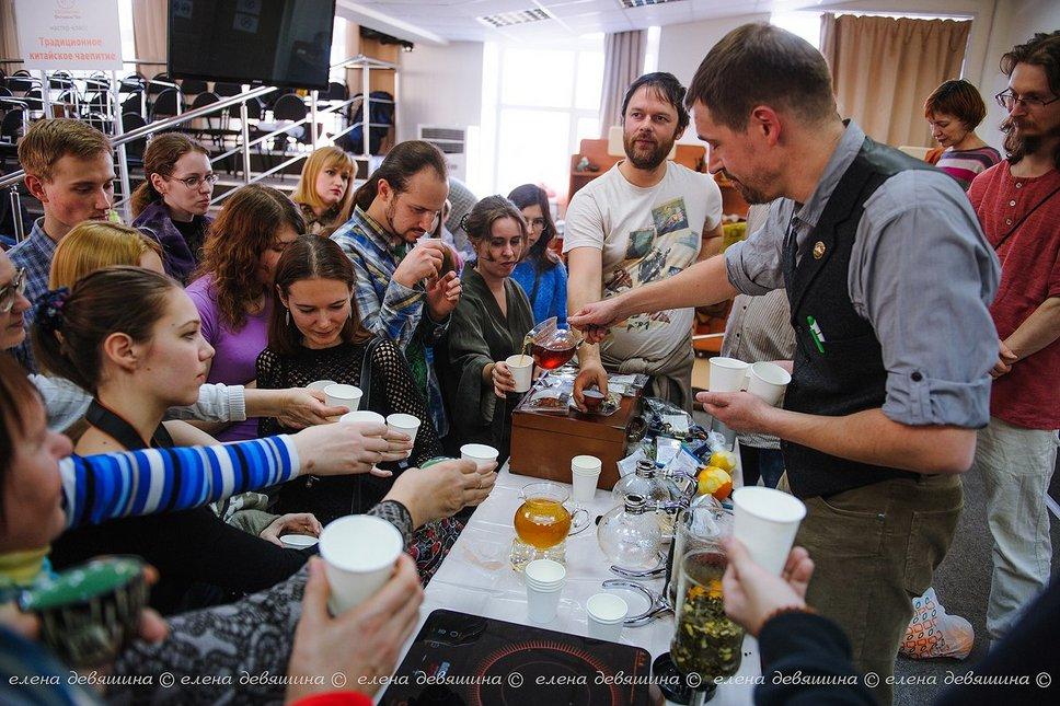Живые чайные коктейли в Томске.