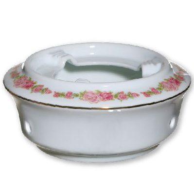 Подставка под большой фьюжн-чайник с розовым орнаментом
