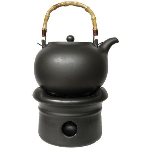 """Чайник глиняный """"Шуй Ху"""" малый для кипячения воды (1,3 литра)"""