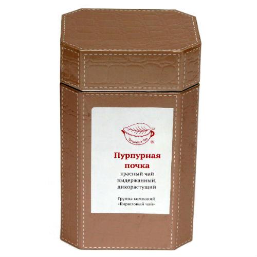 Дикий чёрный чай Пурпурная почка
