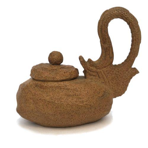 Глиняный чайник «Дракон наоборот» (200 мл)
