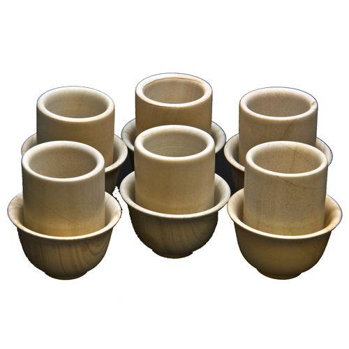 Каменные церемониальные чайные пары (6 штук)