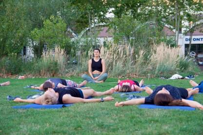 Yoga and vegan breakfast tea stories