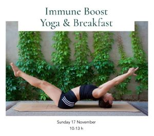 immune boost yoga and breakfast tea stories