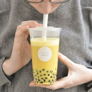 bubble tea golden milk