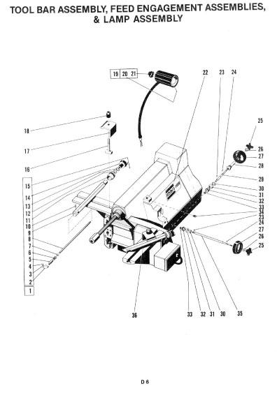 AMMCO 1000 DIAGRAMS