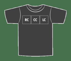 Left/Center/Right Chest: Standard 3.5″