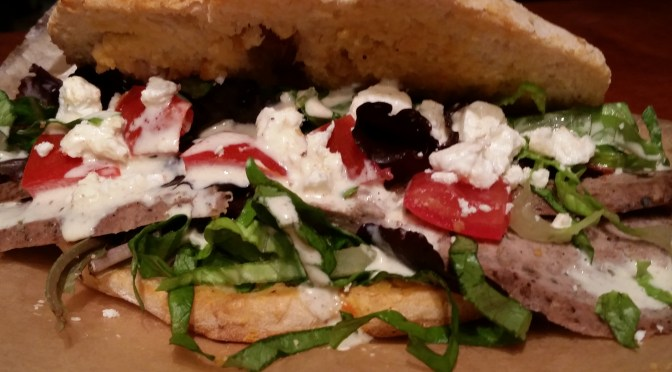Berlin-style Turkish Lamb Doner Sandwich