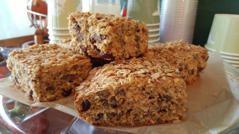 Gluten-free, Pecan,* Coconut,* Cranberry, Oat* Muffins