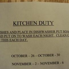 Kitchen Signs For Work Glass Backsplash Sinks Good To Grow Some