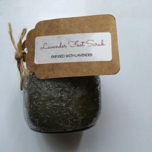 Weed oil infused Lavender Foot Scrub