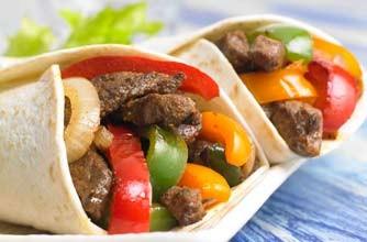 Leftover beef recipes - 9. Leftover beef fajitas - goodtoknow