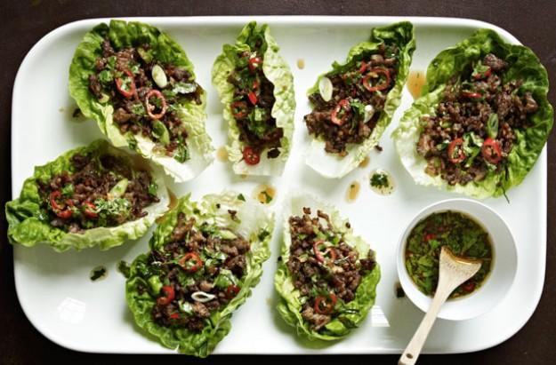 gordon ramsay s chilli beef lettuce wraps recipes