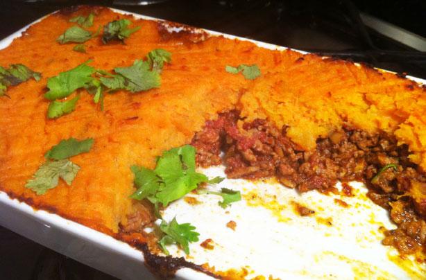 Indian Shepherds pie with sweet potato topping recipe  goodtoknow