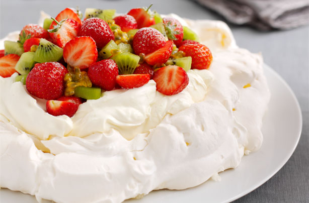 Strawberry and kiwi pavlova recipe  goodtoknow