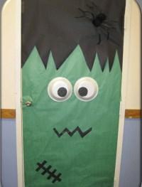 Halloween party ideas: Monster Doors - Frankenstein ...