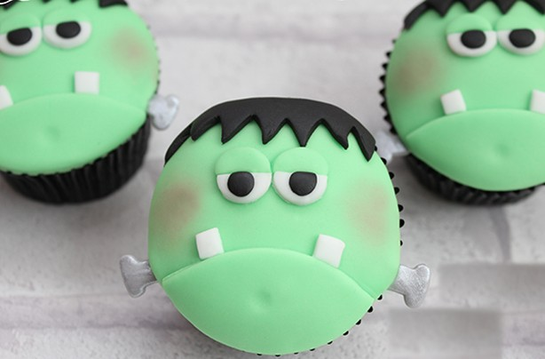 Frankenstein cupcakes  goodtoknow