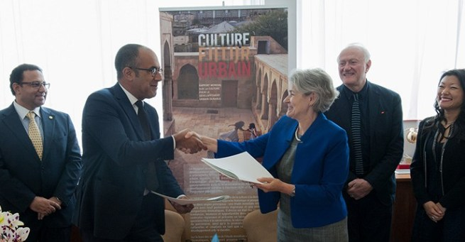 Urban cultural heritage and sustainable tourism. UNESCO, World Bank sign MoU