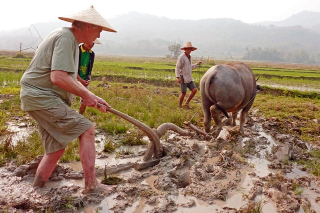 An example of rural tourism in Laos, at the Living Land Co