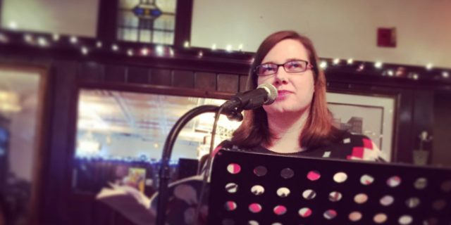 poetry reading by annie christain at mcgeary's