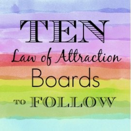 10 law of attraction boards to follow