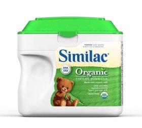 Similac Organic Powder, 23.2-Ounces (Pack of 6)