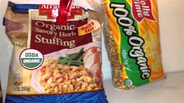 Organic VLOG #3 Find cheap organic Food Romaine, Tomato Sauce, Popcorn