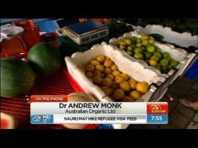 Sunrise – Will organic food become the norm?