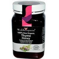 Wedderspoon Organic, Inc., 100% Raw Organic Thyme Honey, 17.6 oz (500 g)