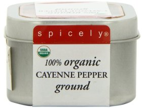 Spicely Tin Organic Cayenne Pepper, 3 Ounce