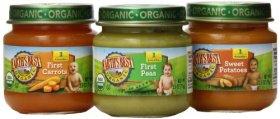 Earth's Best Organic My First Veggies Baby Food Starter Pack, 12 Jars