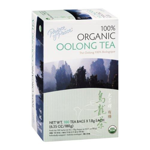 Prince Of Peace 100% Organic Oolong Tea – 100 CT x 1.8g each(6.35 oz./180g)