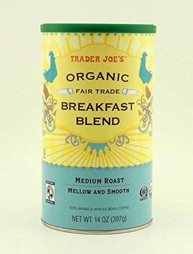 Trader Joe's Organic Fair Trade Breakfast Blend Whole Bean Coffee