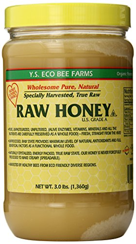 YS Eco Bee Farms RAW HONEY – Raw, Unfiltered, Unpasteurized – Kosher