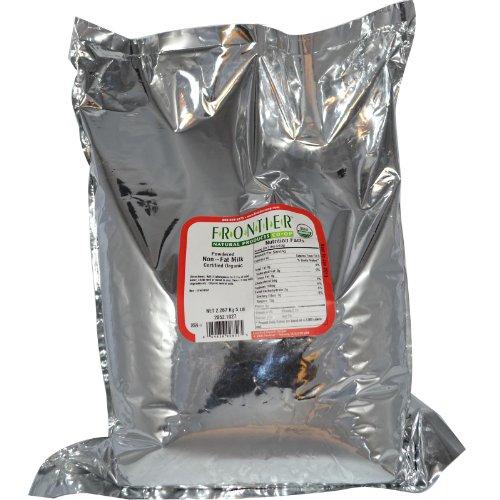 Frontier Bulk Milk, Non-Fat Dry Powder, CERTIFIED ORGANIC, 5 lb. package