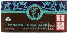 Equal Exchange Organic Panama Extra Dark Chocolate, 3.5-Ounce (Pack of 6)