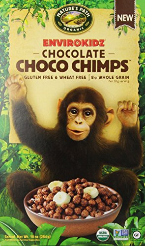 Envirokidz Chocolate Choco Chimps Cereal, 10 Ounce