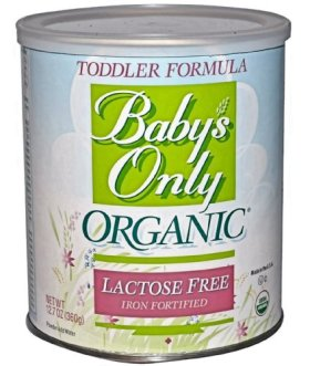 Baby's Only Organic Toddler Formula, Lactose Free OG2 12.7 oz. (Pack of 6)