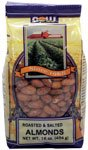 Now Foods Almonds Roasted And Salted, 1 Pound